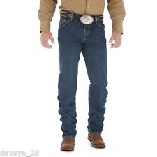 WRANGLER 47MWZ-DS COWBOY CUT PREMIUM PERFORMANCE Dk Stone Washed Jean 34-40 NWT