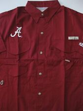 ALABAMA CRIMSON TIDE BONEHEAD SHORT SLEEVE SHIRT COLUMBIA FISHING FISH PFG NEW
