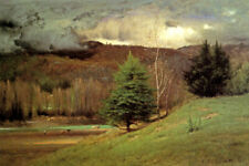 KEARSARGE VILLAGE NH AMERICAN LANDSCAPE 1875 PAINTING BY GEORGE INNESS REPRO