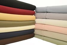 Silky Soft Sheets 100% Egyptian Cotton 600 Thread Count Sheet Set Deep Pocket