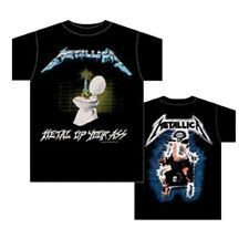AUTHENTIC METALLICA METAL UP YOUR ASS MUSIC HEAVY METAL BAND SHIRT S M L XL 2XL