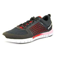 Reebok ZQuick Electrify Mens Black/Gravel/Red/White  Running Shoes