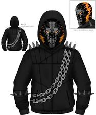 AUTHENTIC GHOST RIDER MARVEL COMICS COSPLAY COSTUME HOODIE SWEAT SHIRT S-2XL