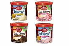 Betty Crocker Cupcake Cake Icing Frosting 2 Tubs