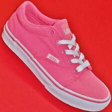 NEW Girls Youth VANS Kress NEON PINK TB6Q Athletic Casual Fashion Sneakers Shoes
