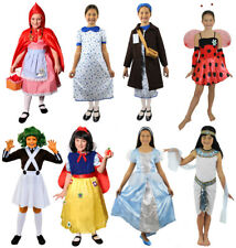 GIRLS DRESSING UP COSTUMES SCHOOL BOOK WEEK PRINCESS FANCY DRESS BOOK DAY