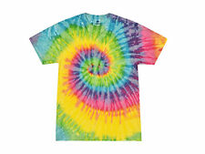 Light Rainbow, Tie Dye T-Shirts, S, M, L, XL, 2X, 3X, 4X, 5X Gildan, 100% Cotton