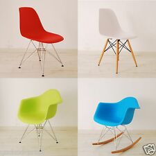 Quality Eames Inspired Eiffel Retro Designer Plastic Dining Lounge Chair Panton
