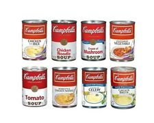 Campbell's Condensed Canned Soup 4 Cans