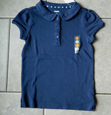 Shirt Gymboree,Uniform shop, blue,short sleeve uniform top,NWT,sz.5,8,9,10