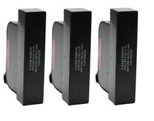 3 x Remanufactured 15 / C6615de Black Ink Cartridge for HP