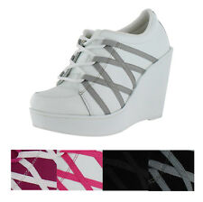 Volatile Excitation Women's Platform Wedge Sneakers Shoes