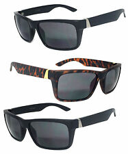Retro Squar Frame Inner Bifocal Reading Sunglasses Sun Reader Tinted Lens RE46