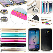 LUXURY ULTRA THIN ALUMINIUM METAL BUMPER FRAME CASE COVER SKIN MOBILES + STYLUS