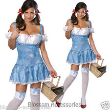 CL346 Sequin Dorothy Secret Wishes Womens Wizard of Oz Fancy Dress Adult Costume