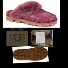 UGG Australia Coquette OXBLOOD Leopard  Slippers Sizes: US:9/EU:40  NEW