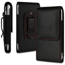 PU LEATHER BELT LOOP HIP POUCH COVER CASE HOLDER HOLSTER FOR YOUR MOBILE PHONE