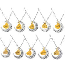 Charms Pendant Necklace Chain Lucky Love You Gift