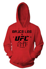 UFC Bruce Lee Translation Pullover Hoodie - Red