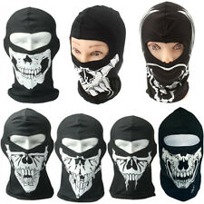 Wind Mask Neoprene Biker Motorcycle Balaclava Mask Skiing Mask Skull Face Skull