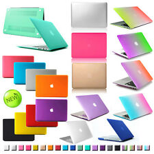 """Rubberized Hard Matte Case Cover Protector for Mac Macbook Pro 13 15""""/ Air 11 13"""
