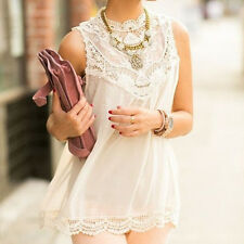 2015 New Women Lace Sleeveless Cocktail Evening Loose Princess Casual Slim Dress