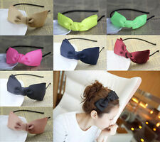 1pcs Cute Girl Fashion Bowknot Sweet Ribbon Hair Band Headband Cute bow Tie