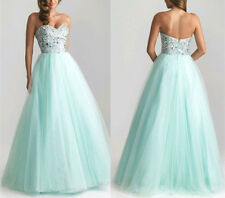Sequins Long Sexy Evening Party Ball Prom Gown Formal Bridesmaid Cocktail Dress