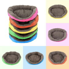 5 Colors Soft Pet Dog Puppy Cat Cozy Warm Nest Bed House with Plush Mat Pad SU
