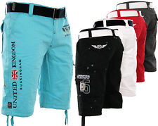 GEOGRAPHICAL NORWAY HERREN CARGO SHORT BERMUDA SHORTS KURZE HOSE POLO KNIELANG