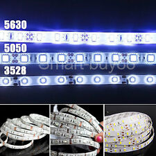 5M 3528 5050 5630 SMD 12V Waterproof 300 LED Strip Light String Ribbon Tape Roll