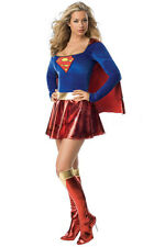 Sexy Super hero Supergirl Wonder Hen Party Outfit Women Fancy Dress Costume M-2X