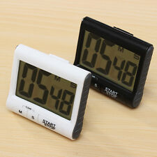 Large LCD Magnetic Digital Kitchen Timer Count Down Up Clock with Loud Alarm USA