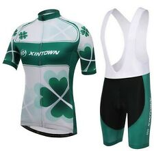 New Women Breathable Sports Cycling Bike Bicycle Jersey+ (Bib) Shorts Size S-3XL