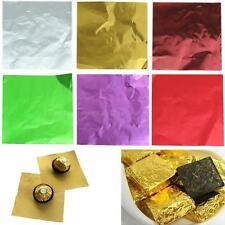 Cute 100pcs Sweets Candy Package Foil Paper Chocolate Lolly Foil Wrappers LSRG