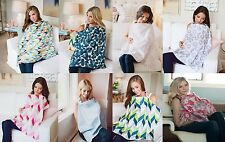 UDDER COVERS BREASTFEEDING NURSING COVER COTTON INFANT BLANKET 8 CHOICES NEW