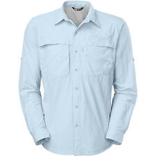 the north face tnf mens cool horizon long-sleeve shirt tofino blue various sizes