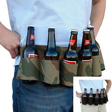 Party Beer & Soda Can Belt 6 Pack Holster - Great For Beer Lovers