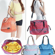 2015 Updated Mummy bag Womens Baby Diaper Nappy Changing Bag shoulers Bags Tote