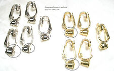 $1.00pr CLEARANCE EARRING CONVERTERS-IRREGULAR for POST STYLE EARRINGS-WHOLESALE