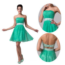 FREE SHIP Sexy Girls Short Graduation Homecoming Gowns Evening Prom Party Dress
