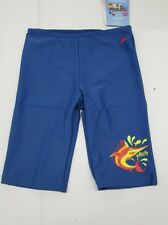 Speedo Swim Trunks Swimming Trunks Shorts blue Girls Boys Sun protection NEW