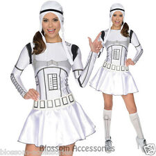 CL386 Star Wars Storm Trooper Ladies Womens Halloween Stormtrooper Dress Costume