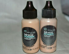 2x Maybelline Mineral Power natural Perfecting Foundation YOU PICK COLOR
