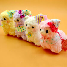 Hot Good Night Alpacasso 17cm Cute Amuse Arpakasso Alpaca Plush Doll Toy 5Colors