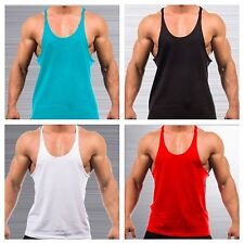 BODYBUILDING STRINGERS racerback tank top gym shirt fitness muscle yback workout
