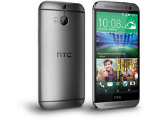 HTC One M8 32GB Gunmetal Gray (Factory Unlocked) Windows/Android Smartphon​e frb