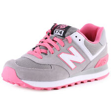 New Balance WL 574 CPF Womens Suede & Synthetic Grey Trainers New Shoes