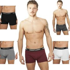 URBAN CLASSICS MEN'S BOXER SHORTS SHORTS UNDERPANTS MENS PANTS BOXER SHORTS S-XL