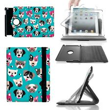 Puppy Party 360 Rotate Case - fits iPad Kindle Samsung Galaxy